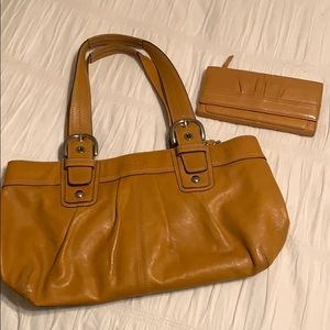 Coach Handbag and Wallet